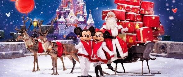 La magie de Noël est à Disneyland Paris !