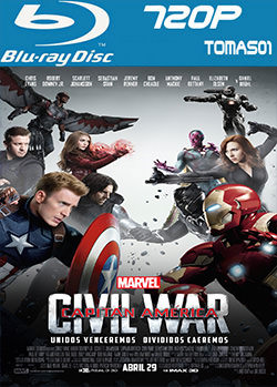 Capitán América: Civil War (2016) BRRip 720p / BDRip m720p