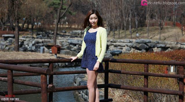 1 Choi Byeol Yee - Lovely Outdoor-very cute asian girl-girlcute4u.blogspot.com