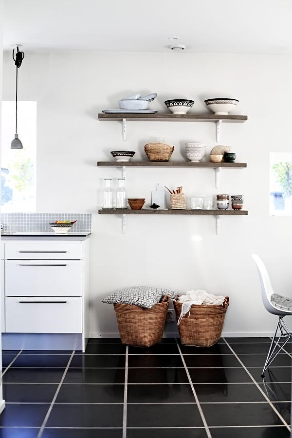 Una idea perfecta para la cocina blog de decoraci n diy - Baldas para cocina ...