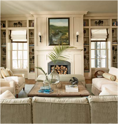 coastal living room design ideas - Coastal Home Design