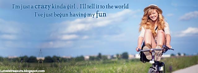 cute smiling girl Facebook cover