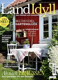 Reportasje i den tyske utgaven av Lev Landlig; LandIdyll