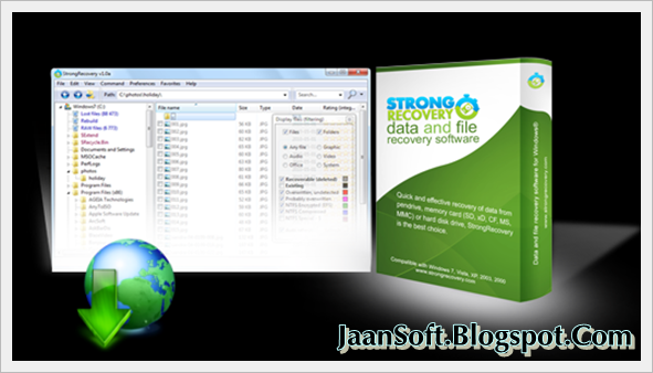 StrongRecovery Portable 3.6.3.2 For Windows