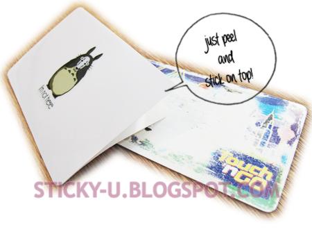 031: Totoro's Card Sticker