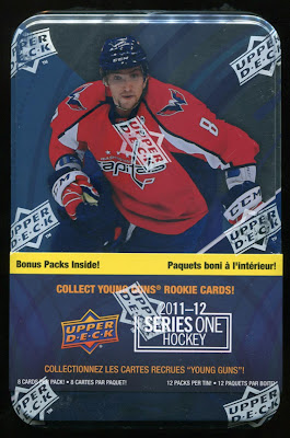 2011-12 Upper Deck Series 1 – Tin Break #1