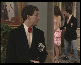 The Cosby Show Huxtable fashion blog Adam Sandler Smitty tuxedo prom