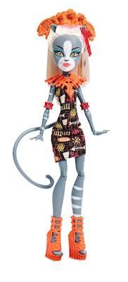 TOYS : JUGUETES - MONSTER HIGH  Meowledy - Jinafire Long | Doll - Muñeca  Producto Oficial 2015 | Mattel DKX96 | A partir de 6 años  Comprar en Amazon España & buy Amazon USA