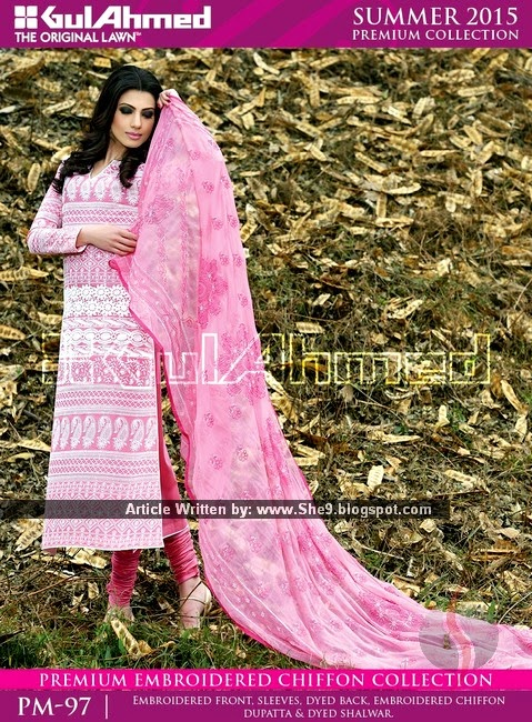 Premium Embroidered Chiffon Magazine
