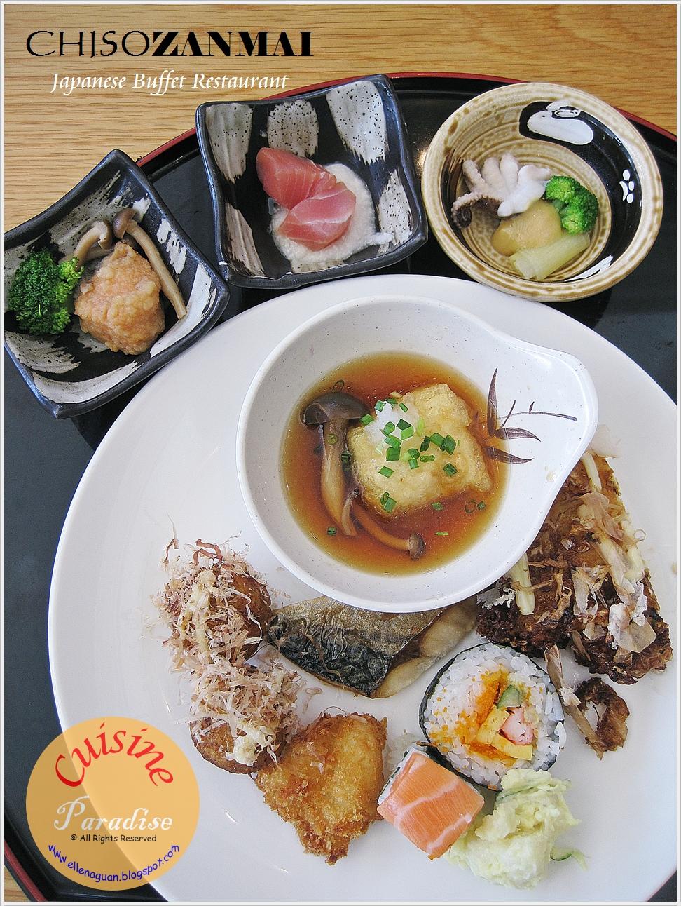 Chiso Zanmai Japanese Restaurant