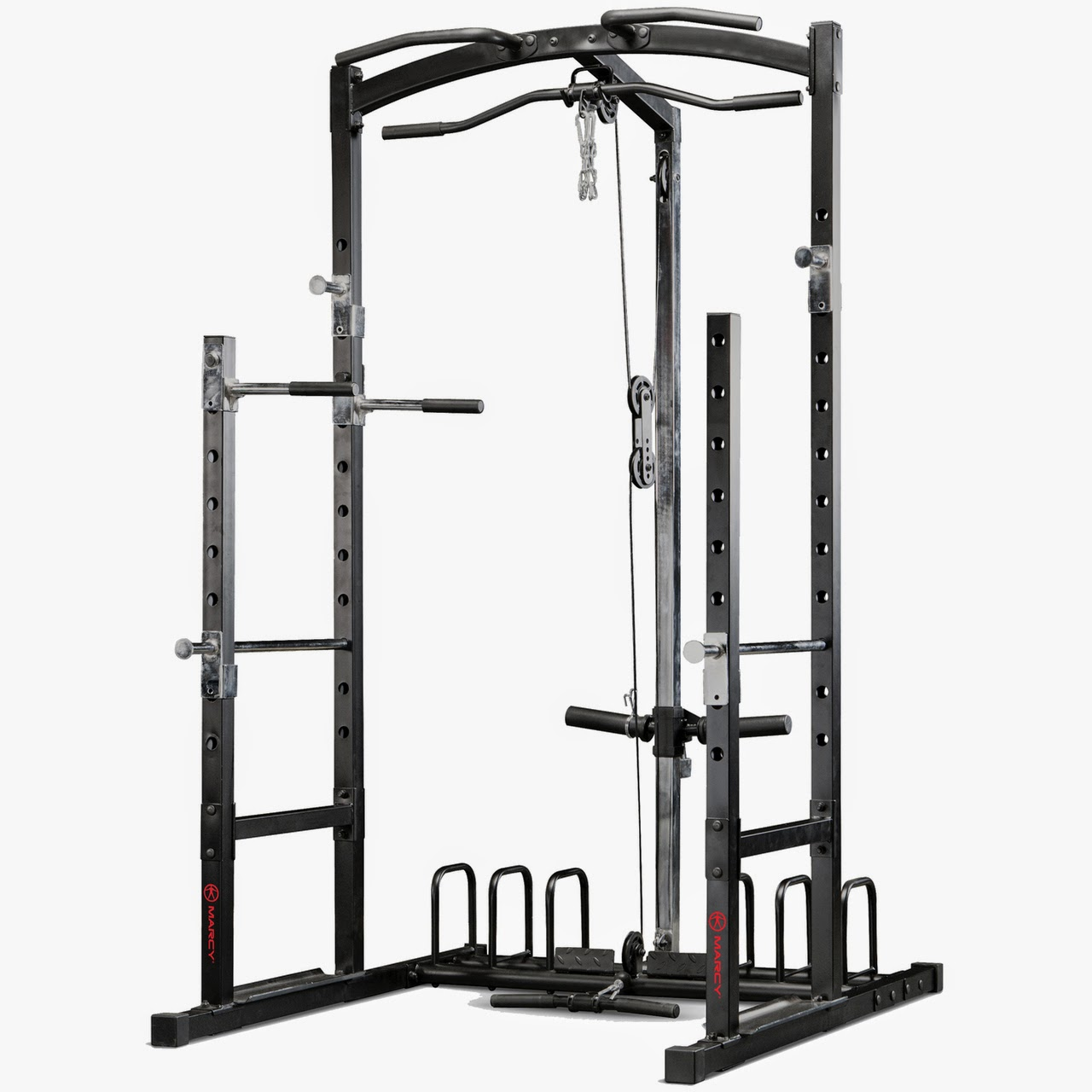Pure Fitness and Sports: Marcy Eclipse RS5000 Power Rack ...