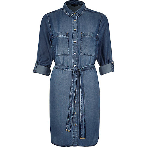 river island denim dress,
