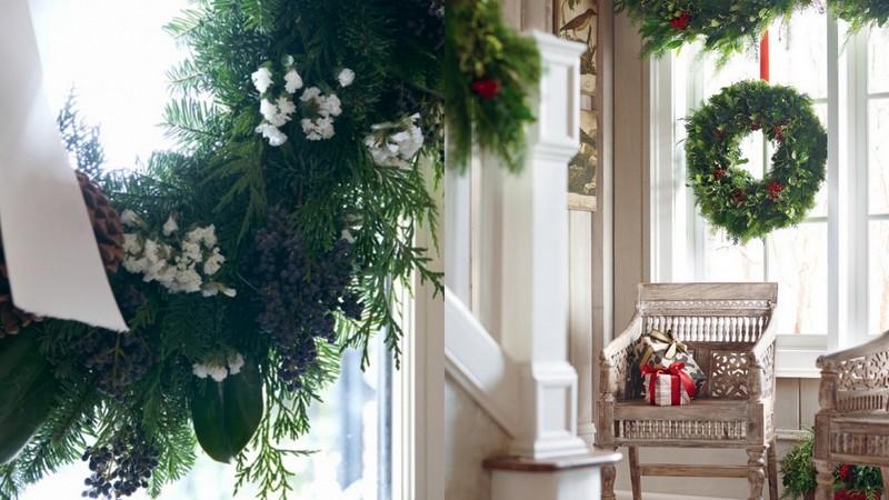 Case Di Campagna Addobbate Per Natale : Boiserie c dicembre
