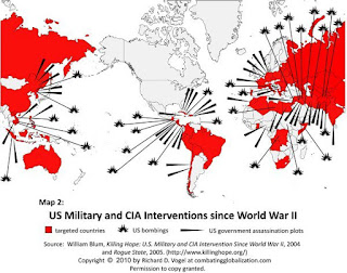 US Military and CIA Interventions Since the War