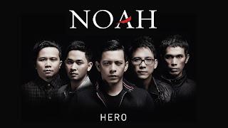 Lirik Lagu Noah - Hero