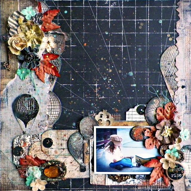Cartographer Layout by Lisa Novogrodski for the Frank Garcia Design Team