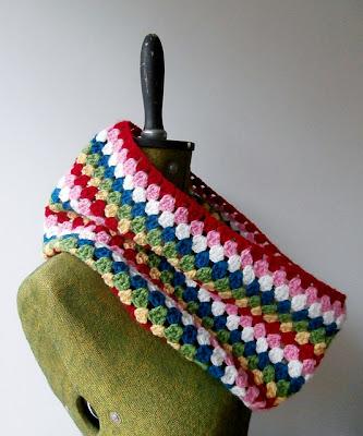 free crochet pattern granny cowl