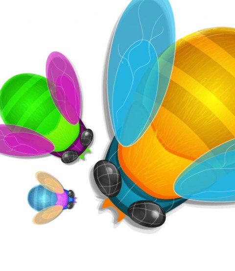 Create a Colorful Bug in Adobe Illustrator
