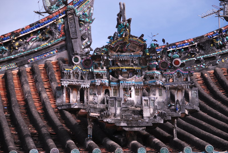 Tham quan chùa Kiến An Cung ở Sa Đéc