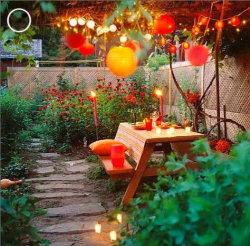 variety of the lights in the garden | Vietnam Outdoor Furniture