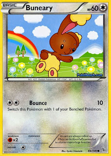 Buneary Flashfire Pokemon Card