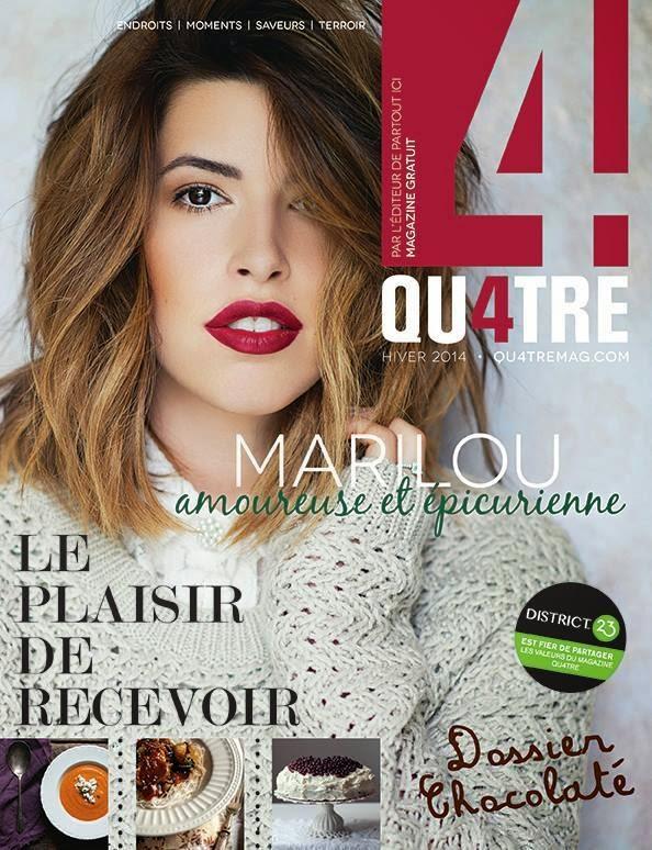 Magazine Qu4tre - Décembre 2014