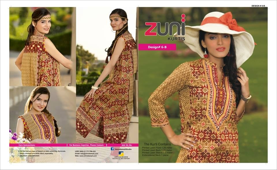 Zuni Summer Kurti Collection 2015