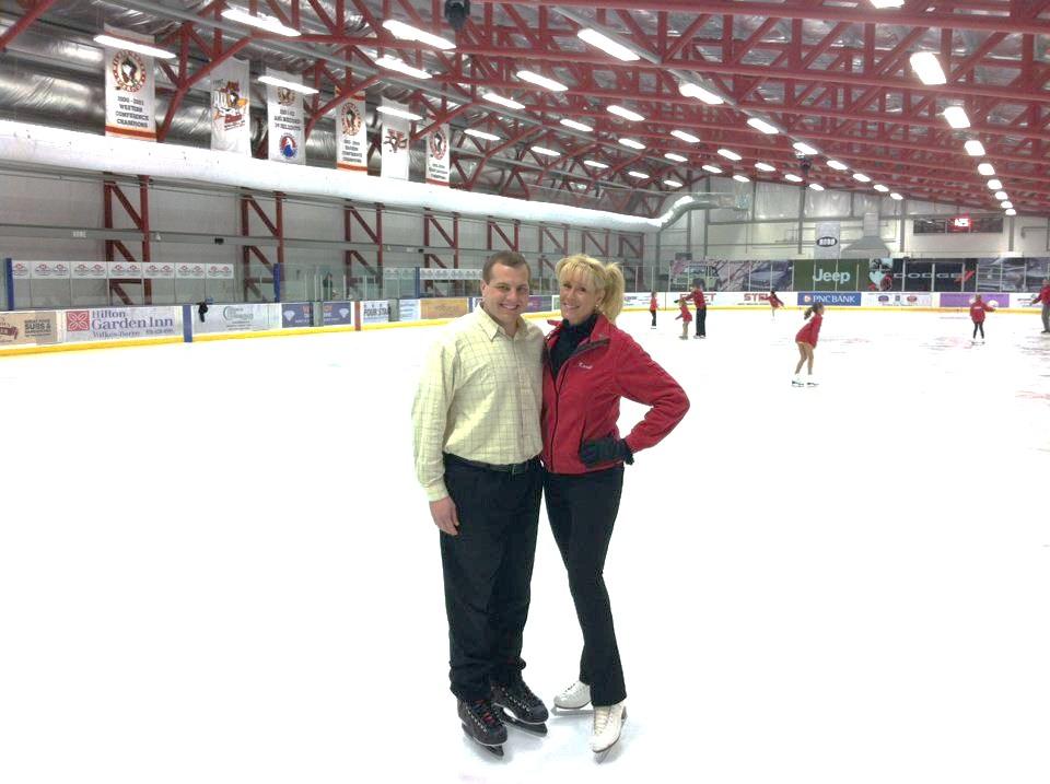 Ice skates size 135 adult