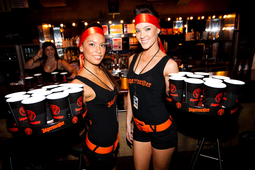 how to become a jagermeister girl