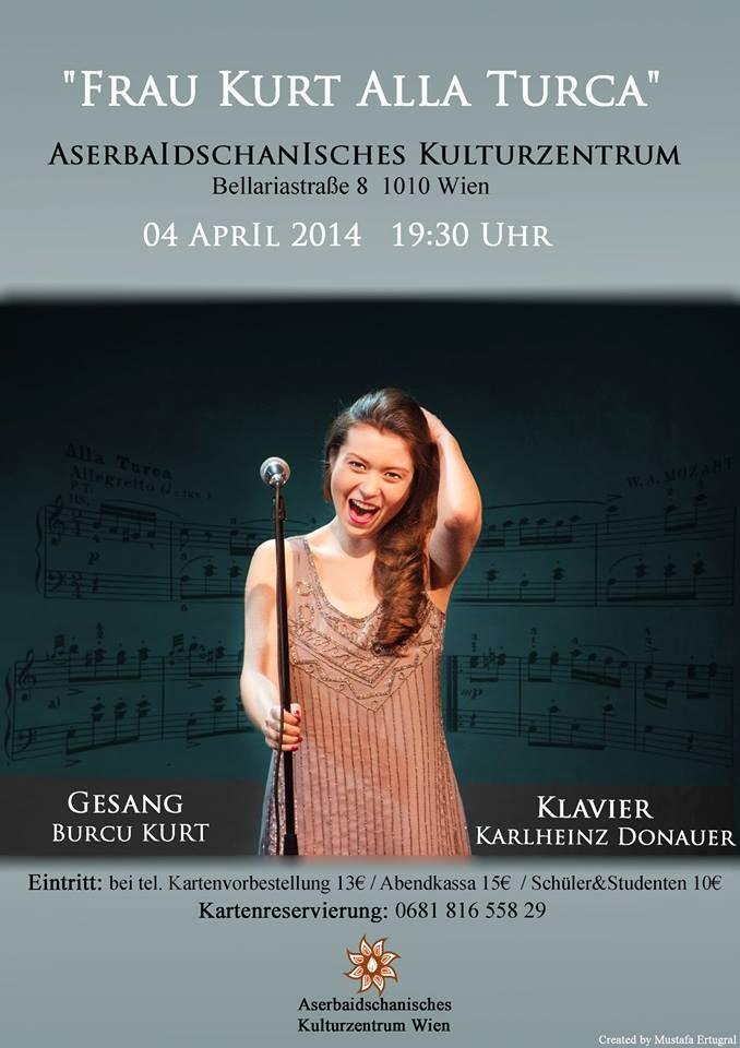 Frau Kurt - Burcu Kurt - Alla Turca Viyana Konseri
