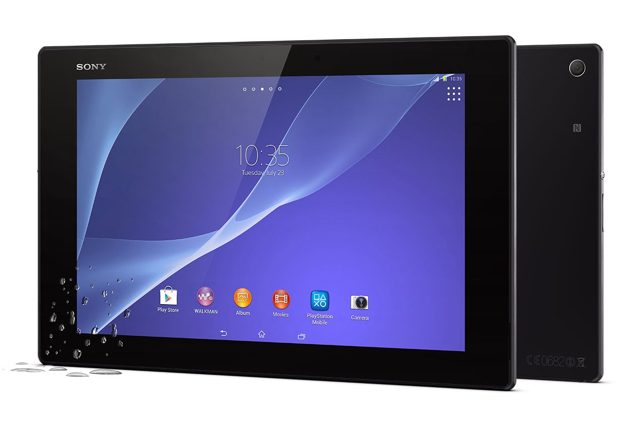 Sony Xperia Z2 Tablet (pictures)