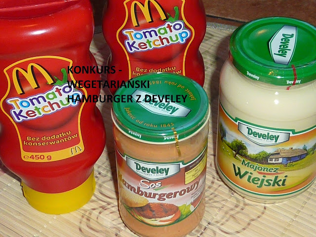Rozwiązanie konkursu na Wegetariański Hamburger z Develey
