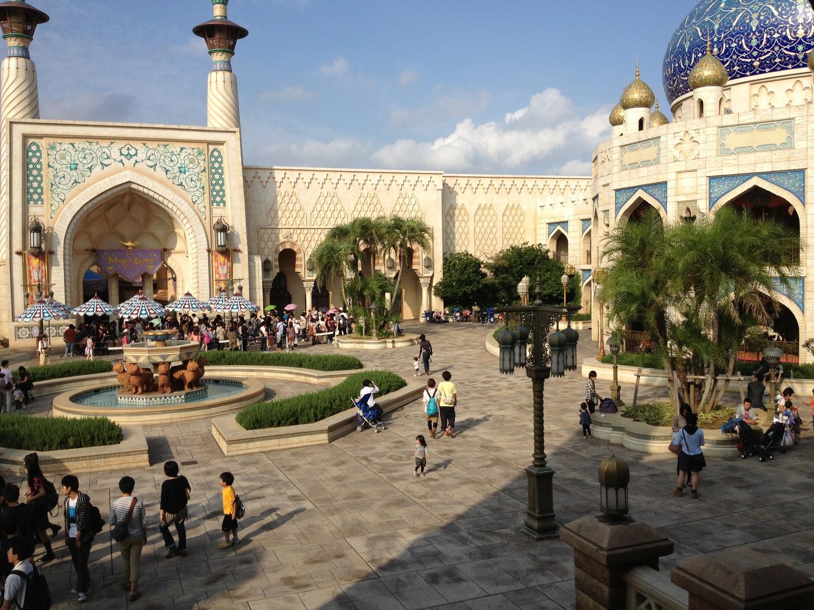 Arabian Coast At The DisneySea Resort Via Tokyo Travel Blog