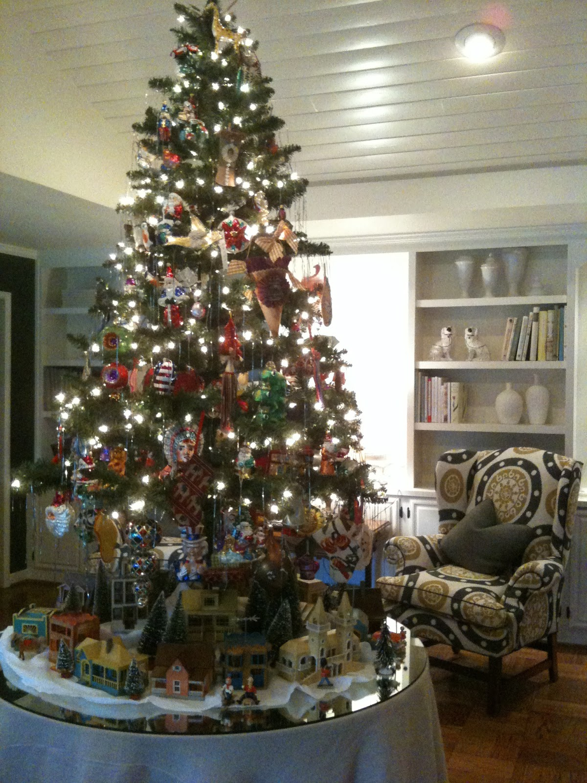 Christmas Decorated House San Francisco : Christmas at my house part the tree and san francisco