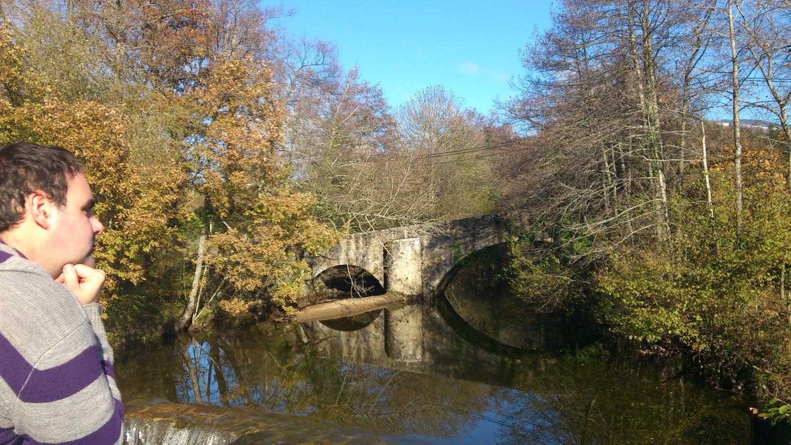 Puente en el monte gorbea