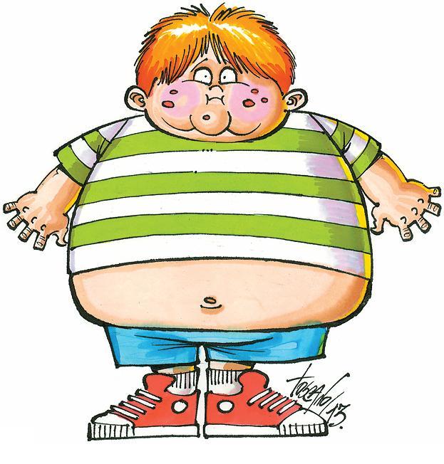 Gordos de caricaturas - Imagui