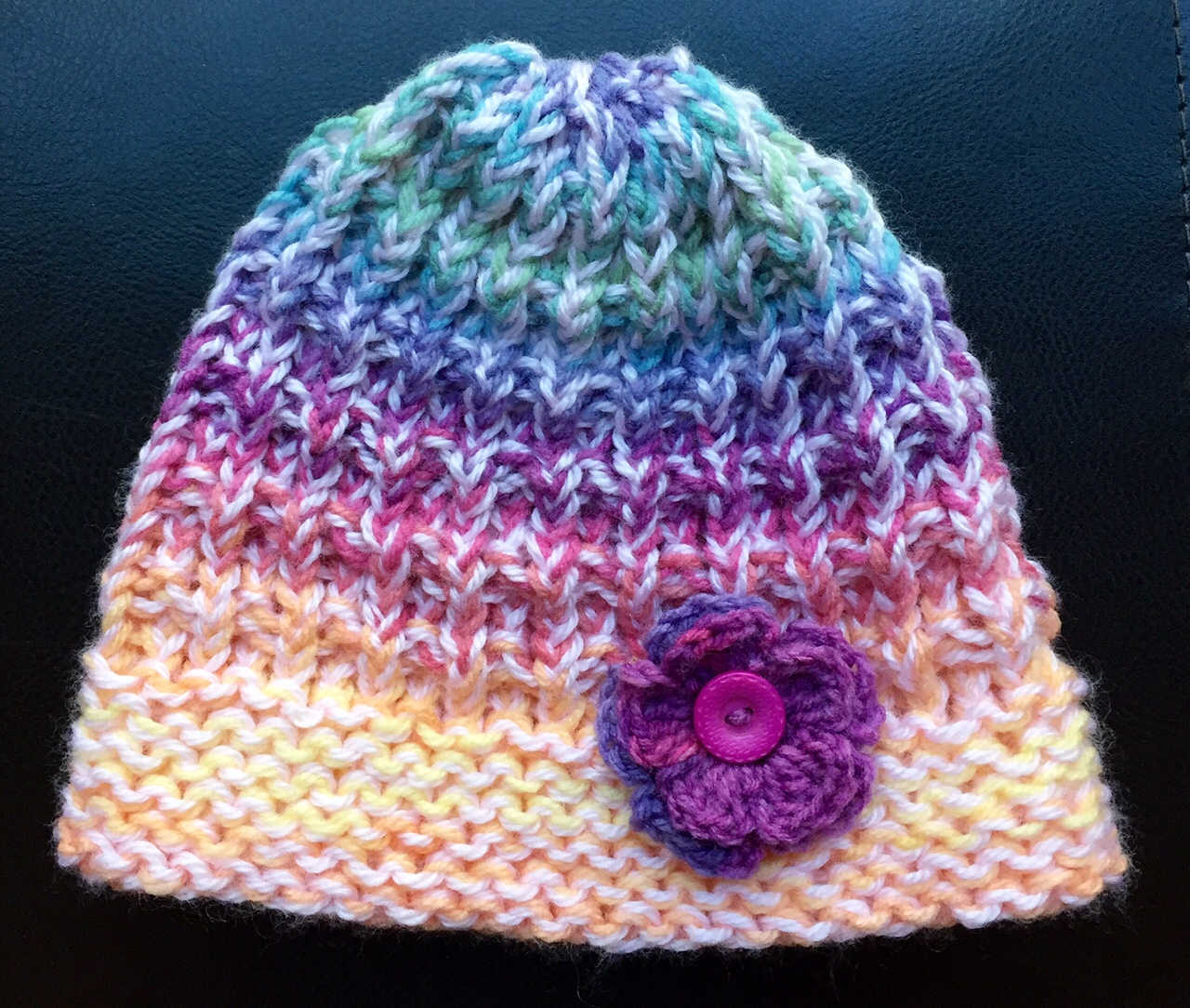 Knitting A Hat On A Round Loom : Knitting with looms