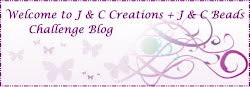 J & C Creations Challenge and have a chance to win a £20 voucher from J&C