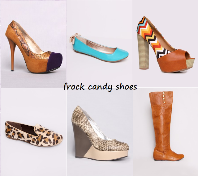 A collection of shoes from Frock Candy