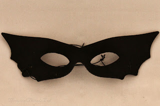 Sexy Black Bat Masquerade Ball Mask from Theatrical Threads Ltd