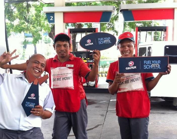 Caltex Fuel Your School program