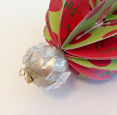smoothfoam bead paper christmas ornament