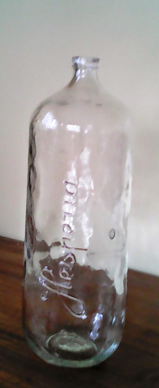 O desv n vintage do pereiro botella vidrio - Desvan vintage ...