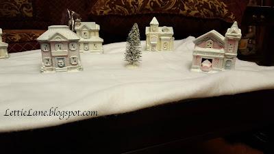 Christmas village transformation DIY