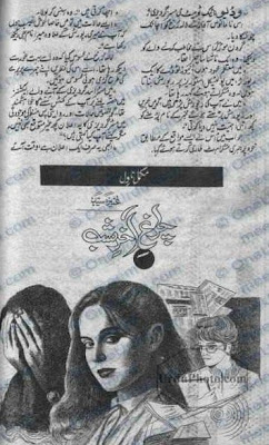 Chiragh aakhir shab novel by Aneeza Sayed.