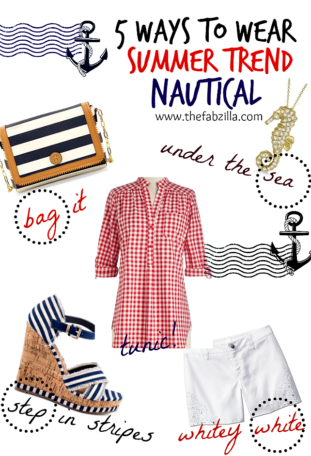 nautical, how to wear nautical trend for summer