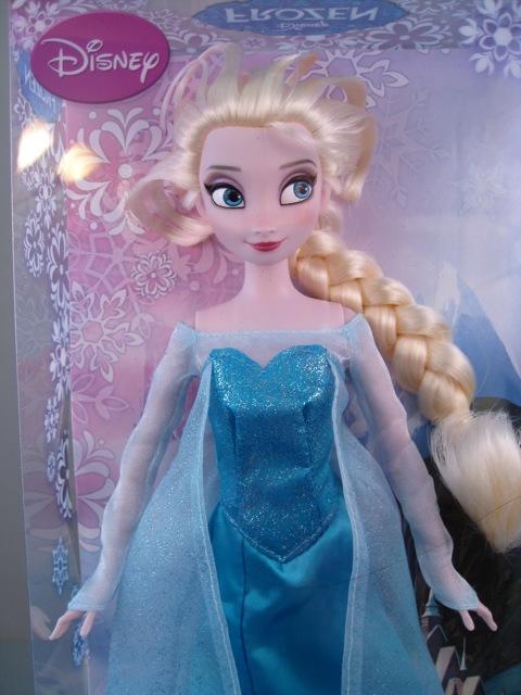 JC Penney Elsa doll