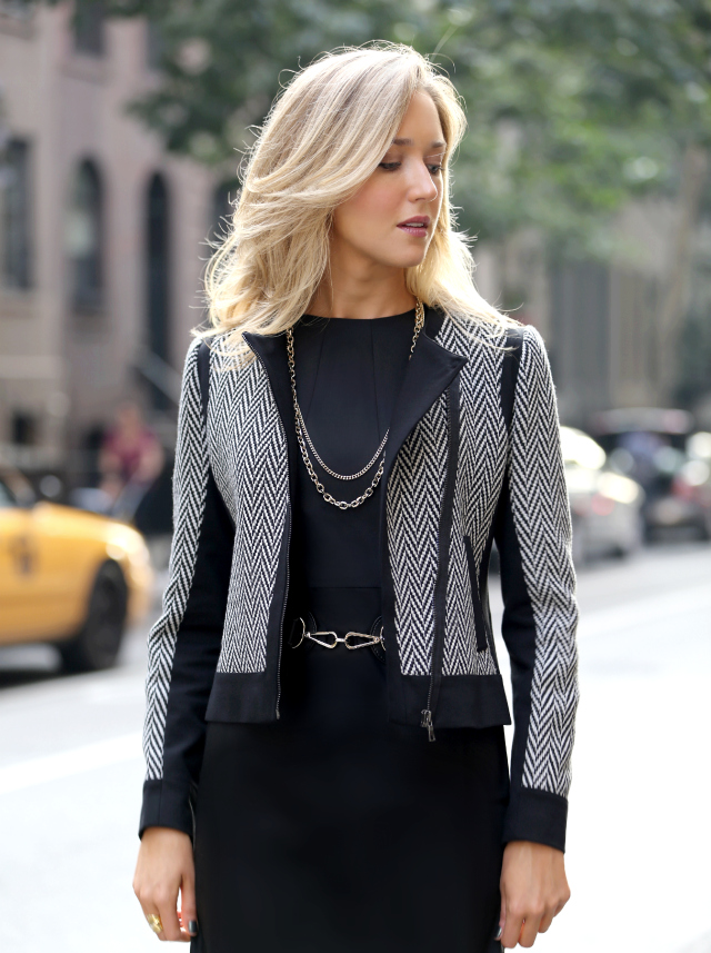 Fall Sheath Dresses With Jackets In Gray street style fall fashion