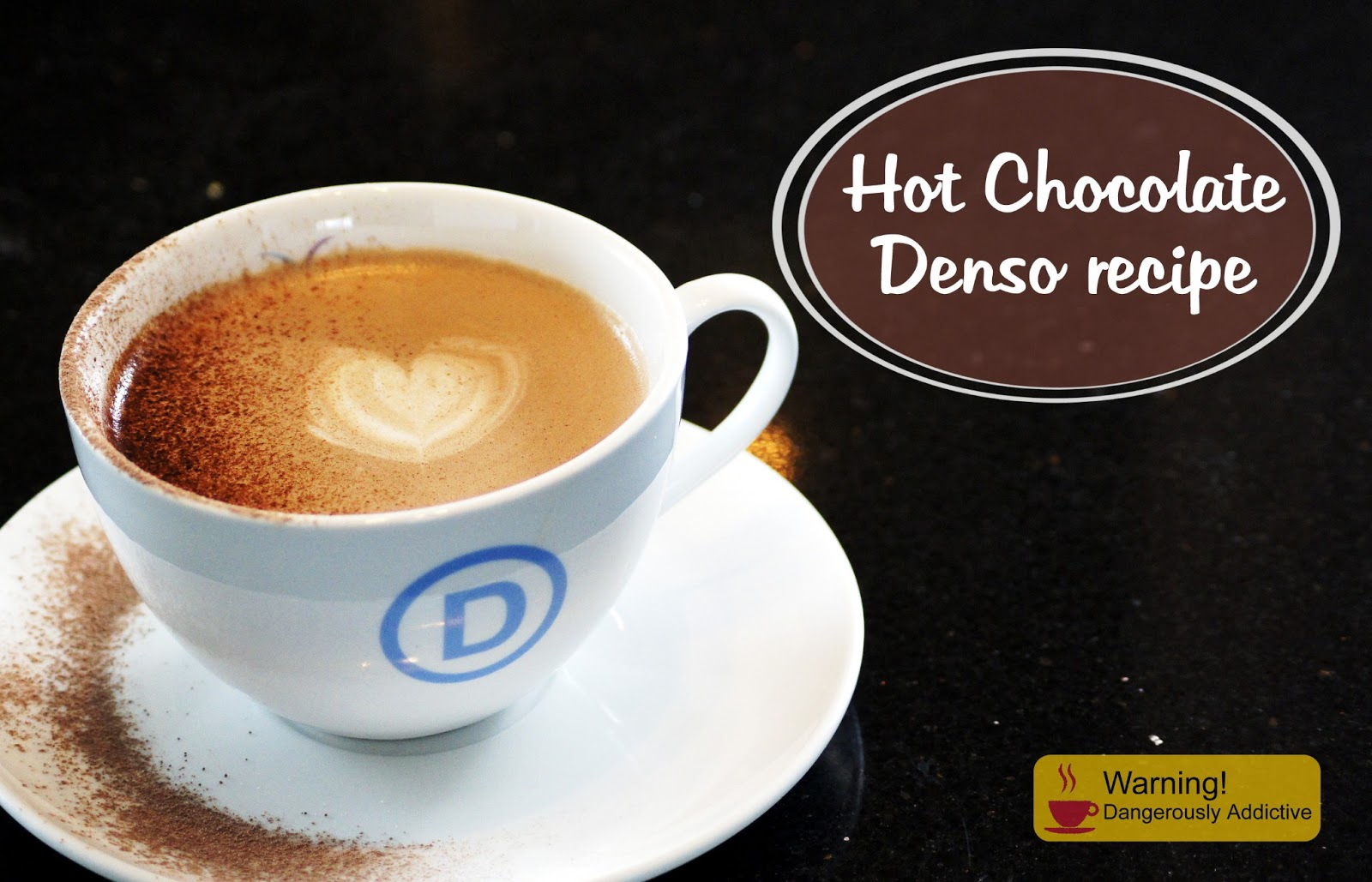 Denso, Hot chocolate, hot chocolate powder, thick hot chocolate