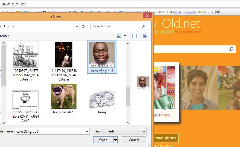 Hướng dẫn sử dụng web đoán tuổi How-old.Net của Microsoft 3